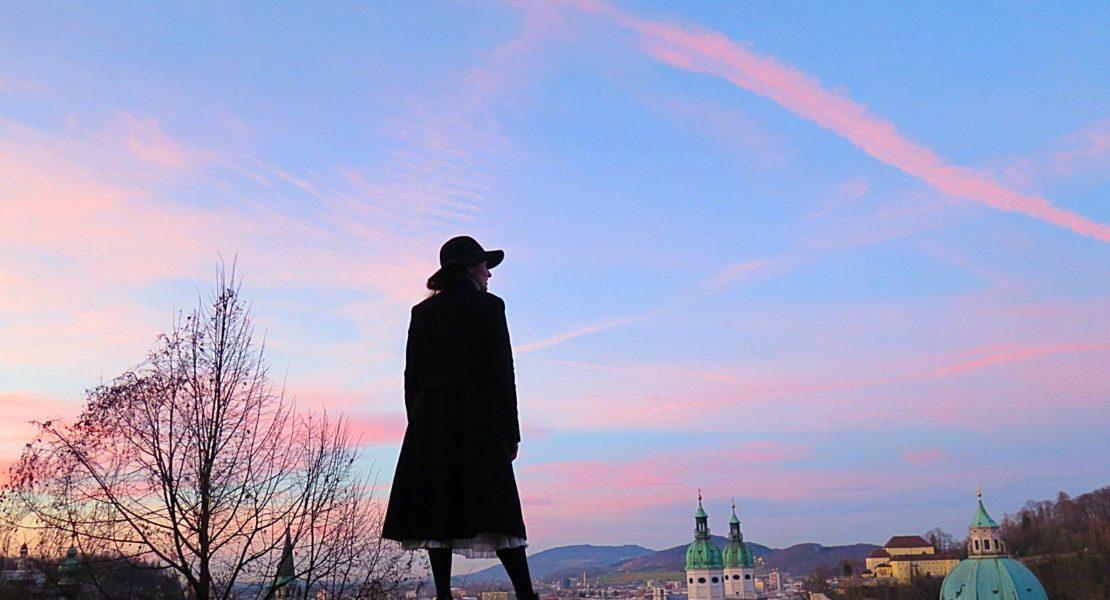 Sunset over Salzburg