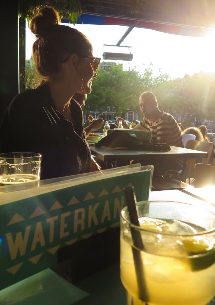 Waterkant my favourite bar in Amsterdam