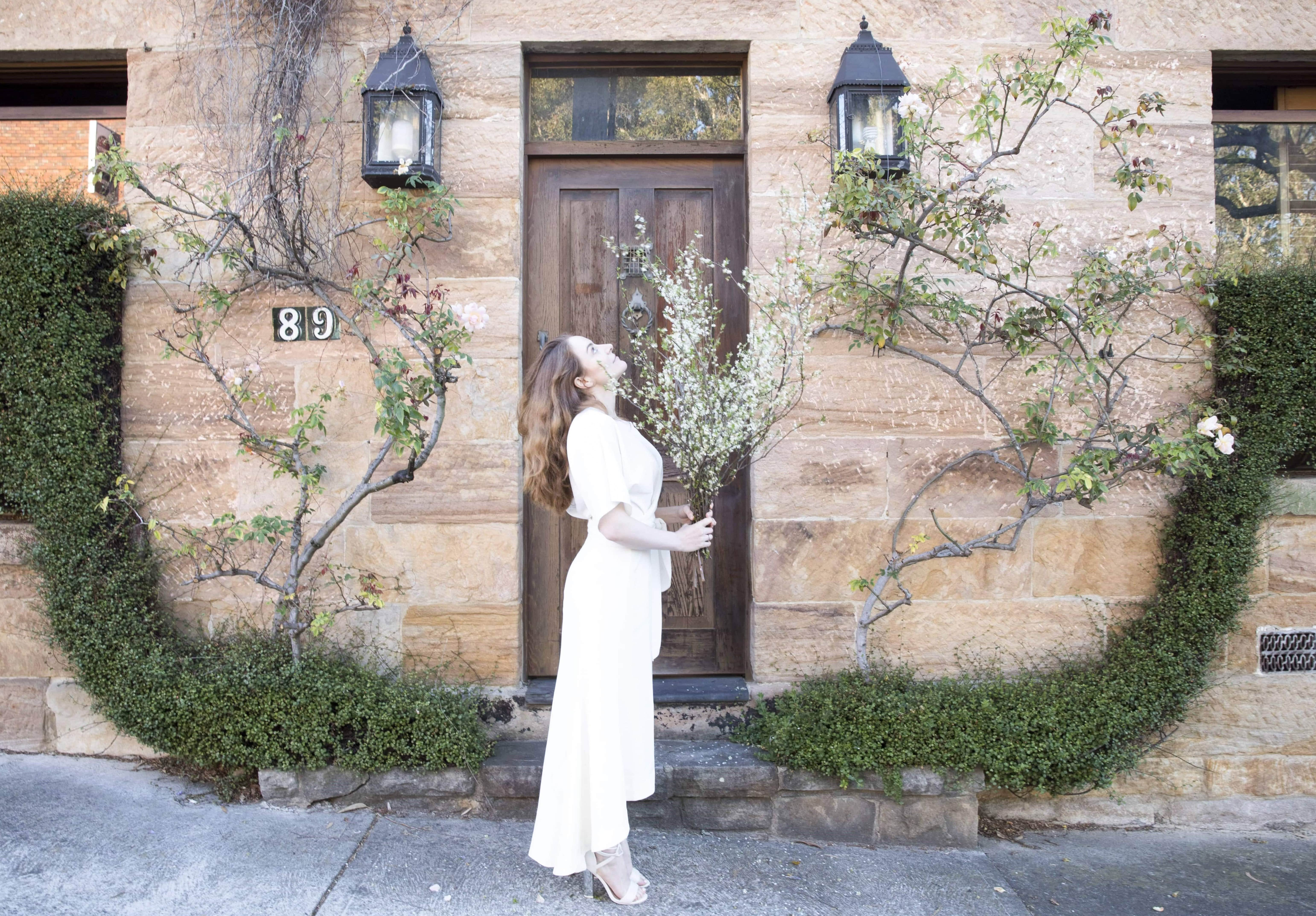 FRIEND OF AUDREY | Maxi Skirt In Cream | Seymour & Ford