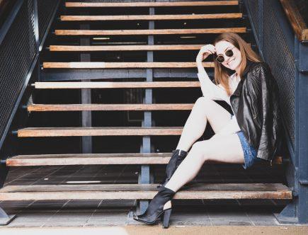 KAREN MILLEN | Leather Jacker In Black| Seymour & Ford
