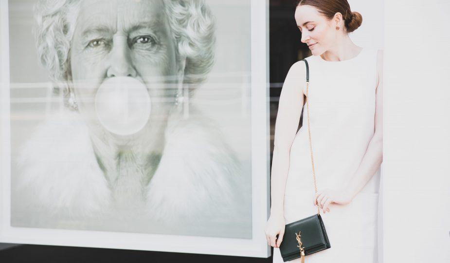 YSL FRIEND OF AUDREY | STYLE SECRET | Handbag In Moss Green | Seymour & Ford