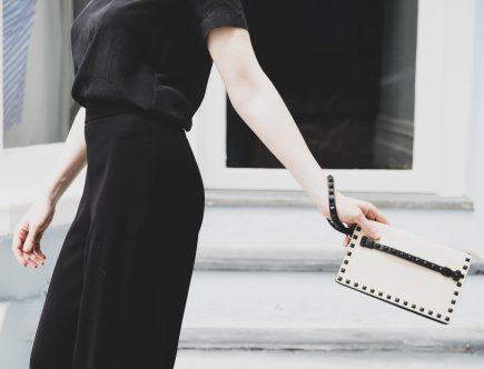VALENTINO | STYLE SECRET | Clutch In White & Black | Seymour & Ford